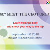 360° MEET THE CEO FORUM,30 September 2010