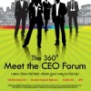 Watch Meet the CEO Forum & Cocktail Live starting 6PM today